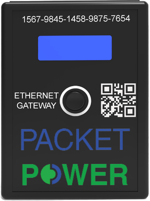 Packet Power Ethernet Gateway